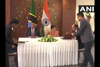 India, Tanzania sign two MoUs