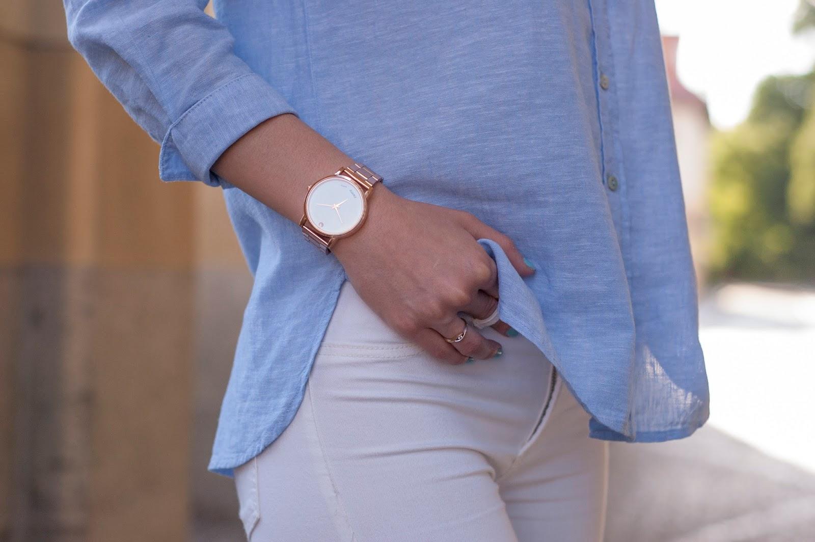Koszula z lnu w biznesowej stylizacji | LIDL ESMARA