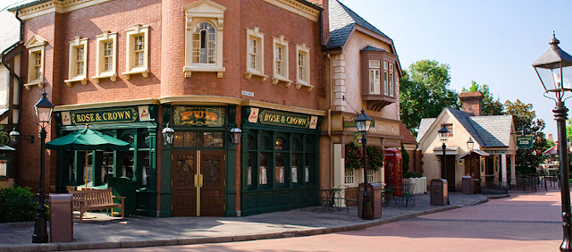 Restaurante Rose & Crown Pub & Dining Room na Disney em Orlando