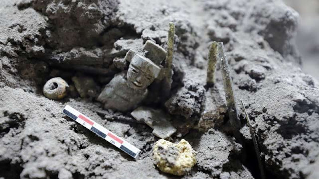 La élite maya vivió en Teotihuacán