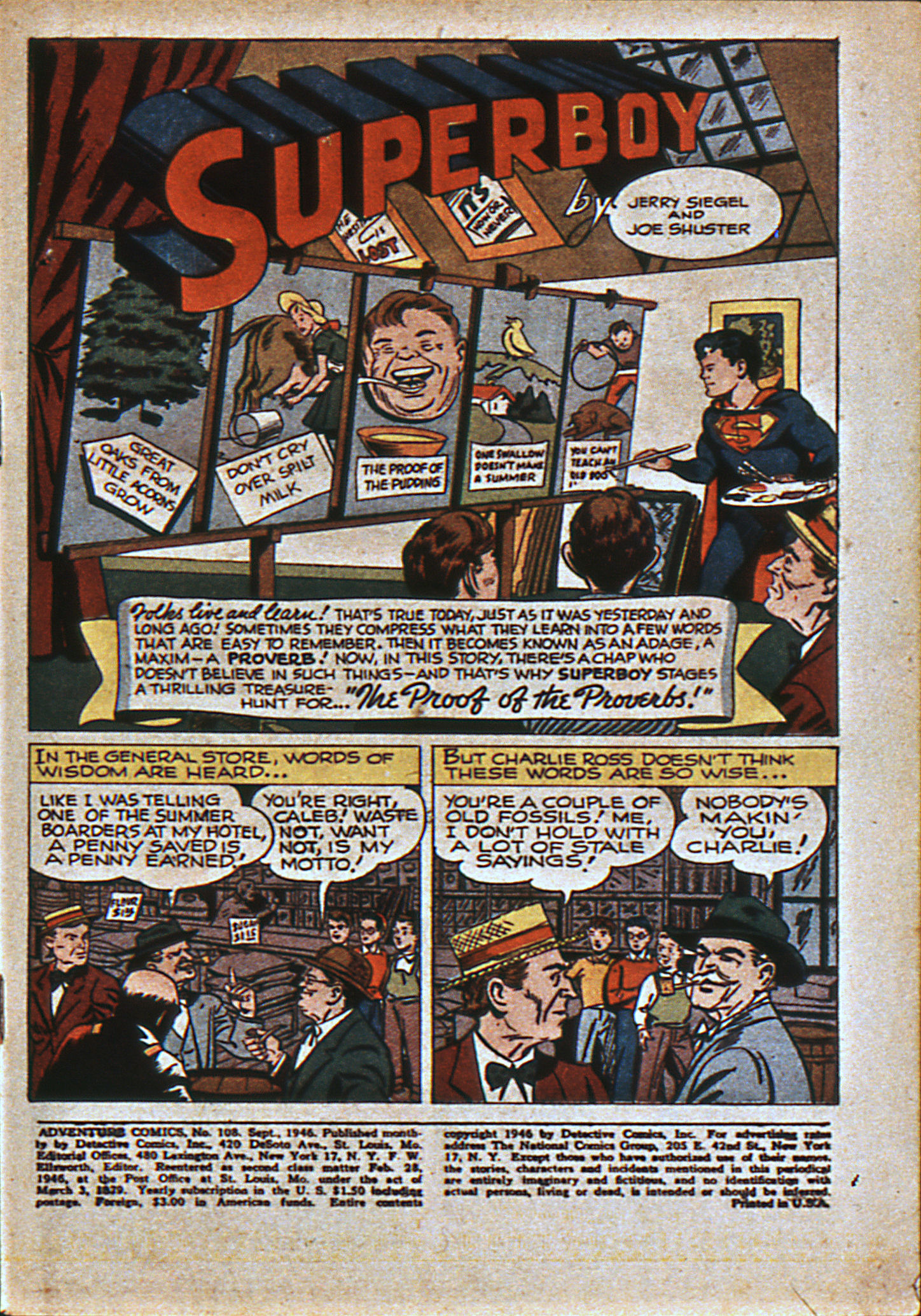 Read online Adventure Comics (1938) comic -  Issue #108 - 4
