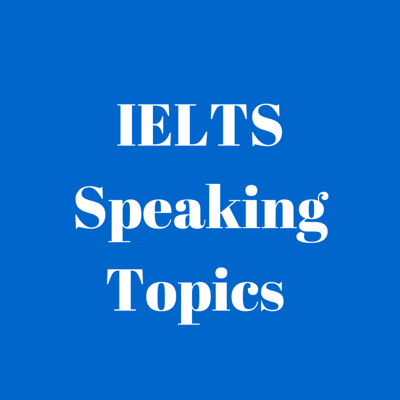 IELTS speaking questions by ieltsboss.com