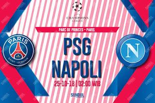 اون لاين مشاهدة مباراة باريس سان جيرمان ونابولي بث مباشر اليوم 24-10-2018 دوري ابطال اوروبا 2018 اليوم بدون تقطيع