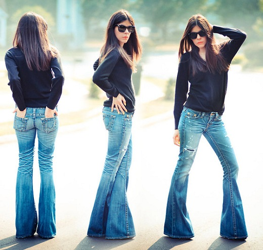 celana jeans wanita model cutbray