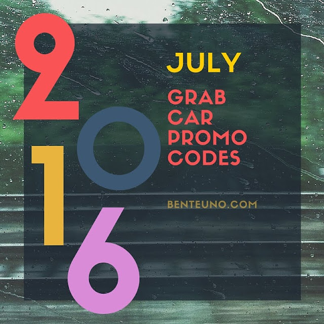 GrabCar Promo Codes for July 2016 from Grab Philippines