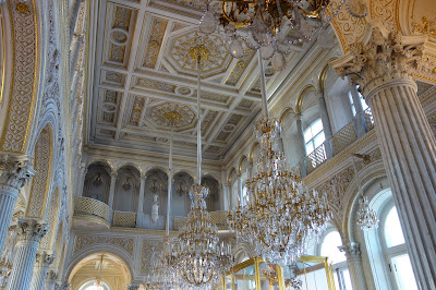 Interior del Museo del Hermitage, San Petersburgo.