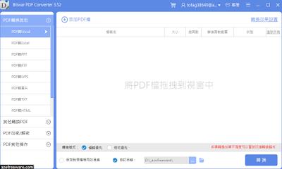 Bitwar PDF Converter