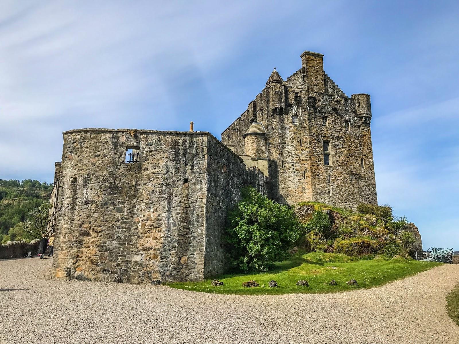 Eilean Donan castle, scotland castle, scotland, scotland in summer