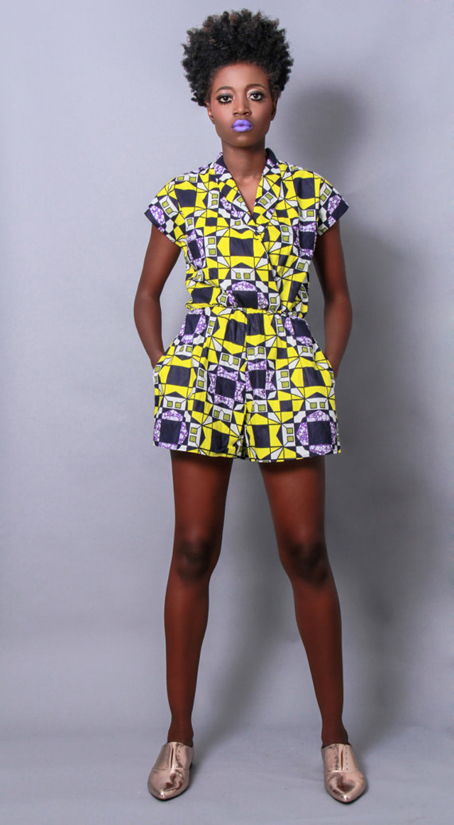 Demesticks  NY African print Rompe ciaafrique ,african print dresses ,african fashion, african dress styles,kitenge designs , african styles, african style dresses , african style, african dresses