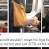A Boy Refused To Move His Legs On A Subway. His Look When Someone Sat On Them Was Priceless