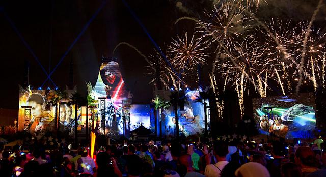 Shows de fogos dos outros parques da Disney em Orlando