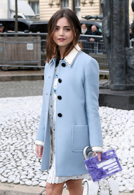 Jenna Louise Coleman – Miu Miu Show at 2017 PFW in Paris