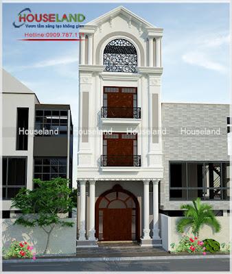địa chỉ thiết kế nhà phố cổ điển đẹp