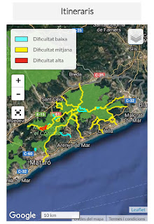 Itineraris Parc del Montnegre i El Corredor