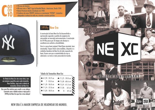 186049091 ... para facilitar a escolha dos caps para os atletas de baseball de  inúmeros times norte-americanos que trabalhavam diretamente com a New Era.
