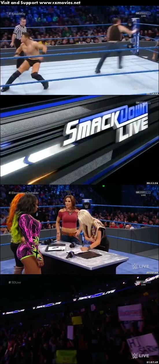 WWE Smackdown Live 07 Feb 2017 HDTV 480p
