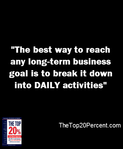 Daily Business Goals