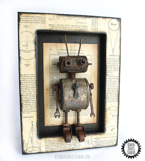 Robot Sculpture by Robin Davis Studio