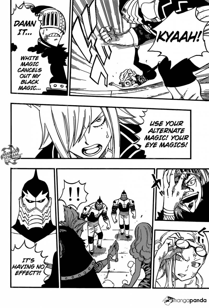Fairy Tail Ch 459: Weakness