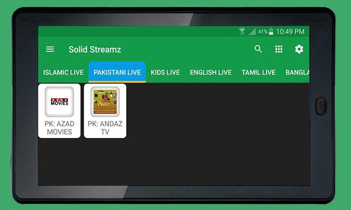 Solid Streamz Pakistani Live