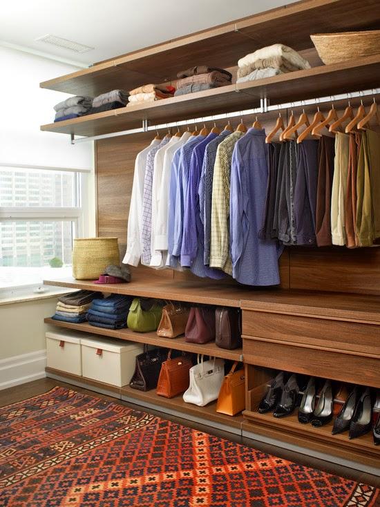 Hogares frescos 40 ideas para dise ar tu closet y - Disenar armarios empotrados ...