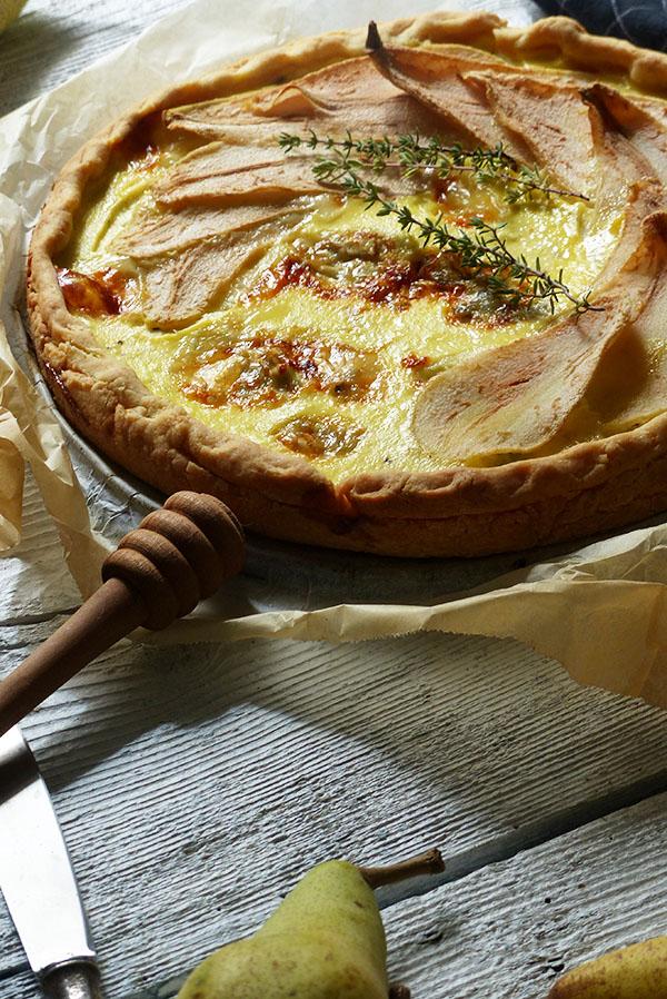torta pere e gorgonzola_S&V