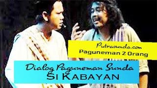 Paguneman Tentang Si Kabayan Untuk 2 Orang Basa Sunda Lucu