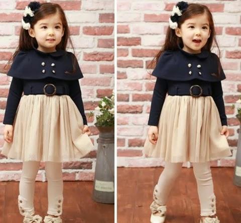 model baju anak perempuan modis korea 2015