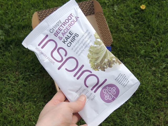 Inspiral kale chips