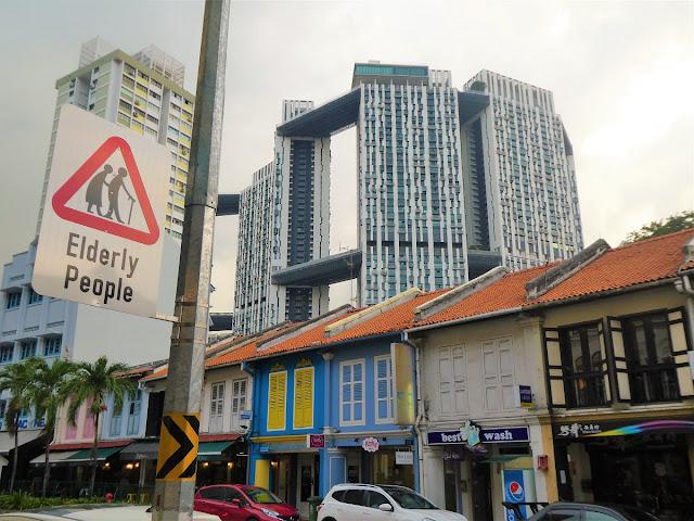 bästa områden i Singapore