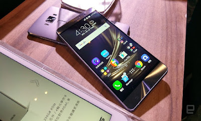 So sanh Zenfone 3 Deluxe va Zenfone 3 Ultra
