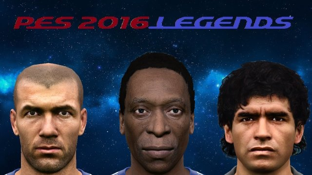 PES 2016 Collection of 160 Classic Players Facepack