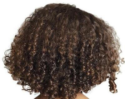 علاج الشعر المجعد والخشن