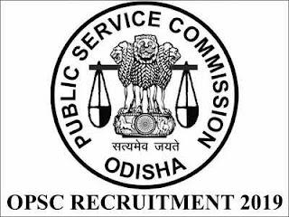 OPSC Recruitment (2019)