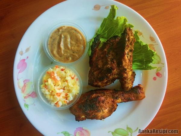 ayam panggang bakar bbq