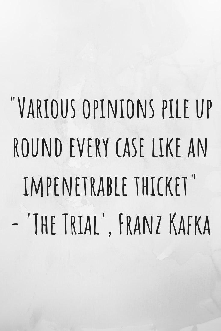 All of Literature's A Stage: Review of 'The Trial' by Franz