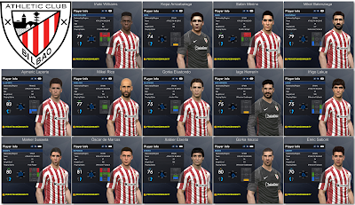 PES 2017 Athletic Bilbao Facepack 1.0
