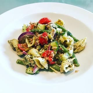 Tuna, Pasta & Pesto Salad