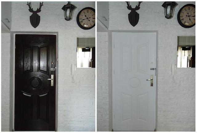 metamorfoza drzwi drewnianych
