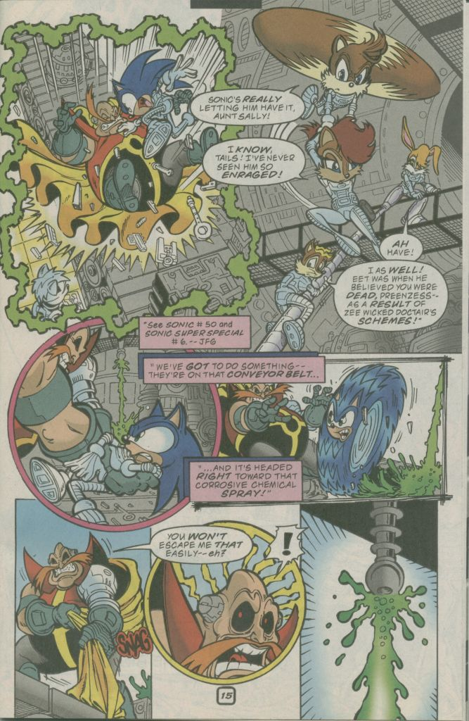 Read online Sonic The Hedgehog comic -  Issue #74 - 19