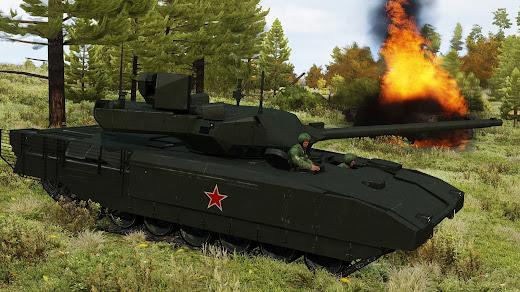 Arma3用2035年のロシア軍アドオン