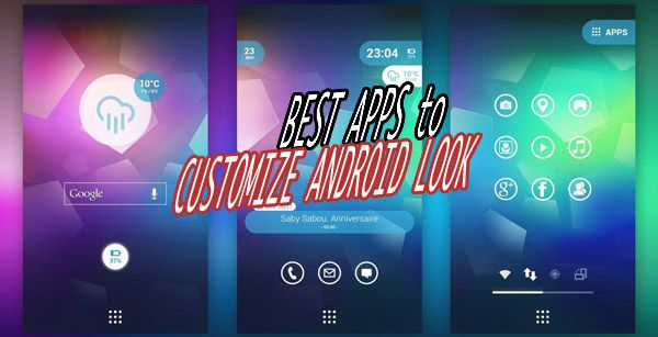 best android customization apps