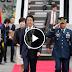 Watch:Japan Prime Minister Shinzo Abe ikinatuwa ang ang mainit na pagsalubong sa kanya