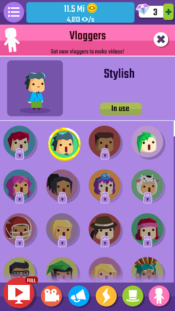 Vlogger Go Viral New Costumes Update  |  For Gamers Like Me