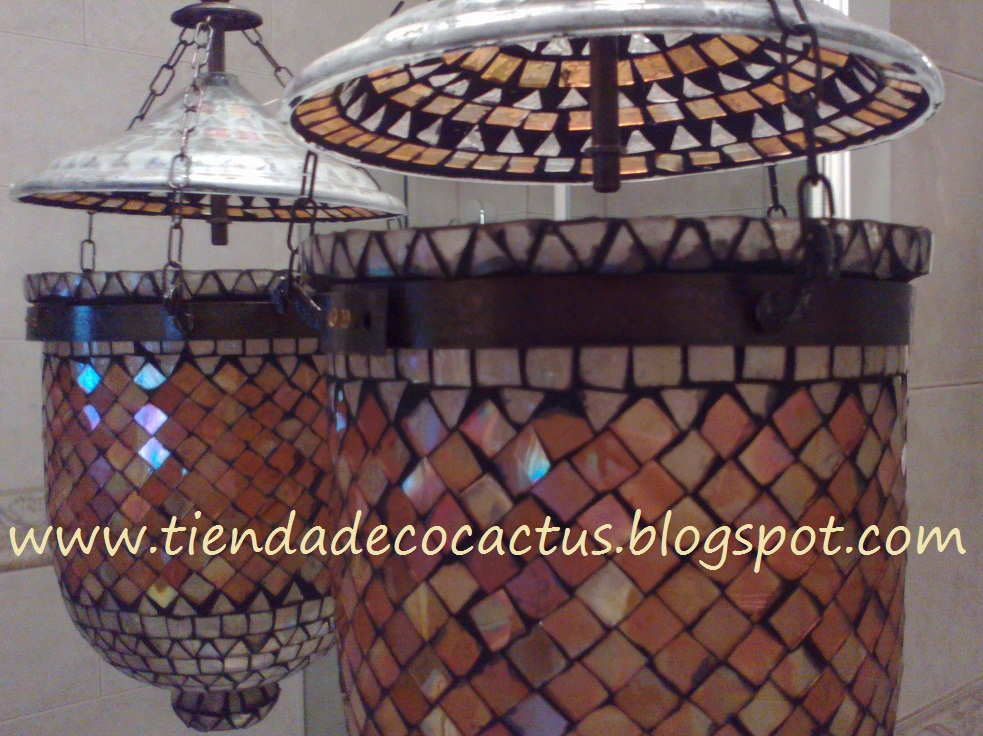 Decoraci n hind tienda deco c - Lamparas de la india ...