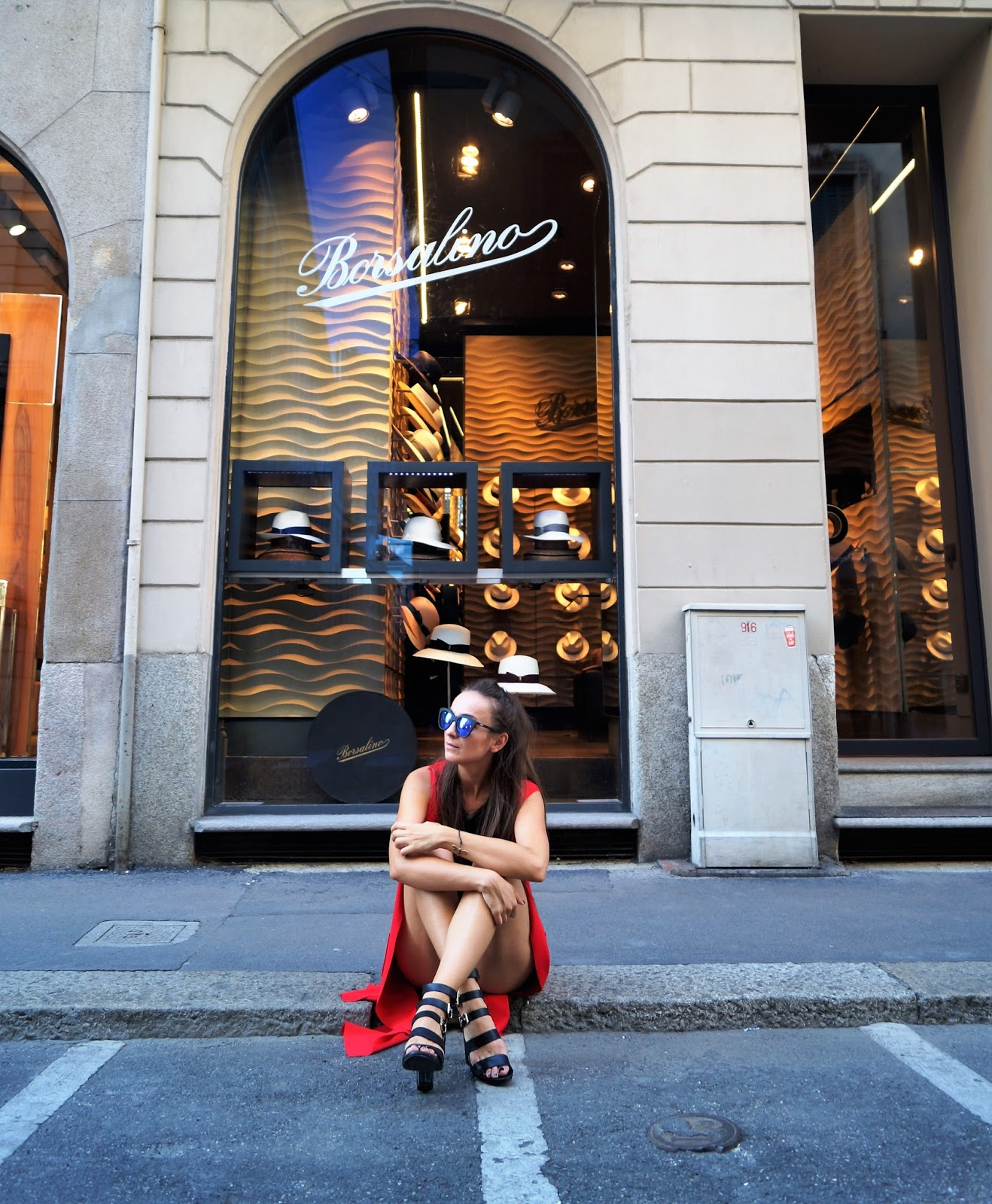 Modowa Mapa Mediolanu/ Milan Fashion Map: Via della Spiga