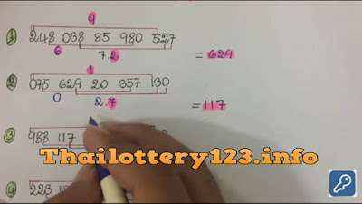 Thai lottery direct set VIP 3UP set must win