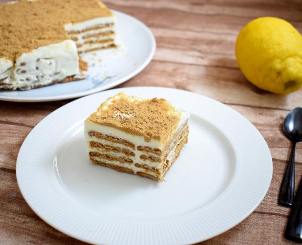 Tarta de Galletas, Leche Condensada y Limón. Vídeo Receta