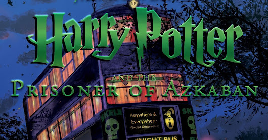 Harry Potter and the Prisoner of Azkaban Illustrated Cover Revealed