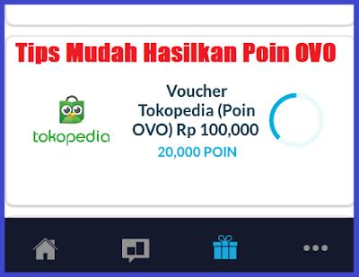 Cara Menapatkan Poin OVO Untuk Belanja di Tokopedia Dengan Hanya Mengerjakan Survey